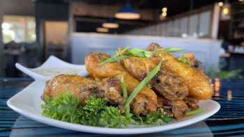 The Pony and the Boat Comfort Kitchen, Slow Cooked Chicken Wings